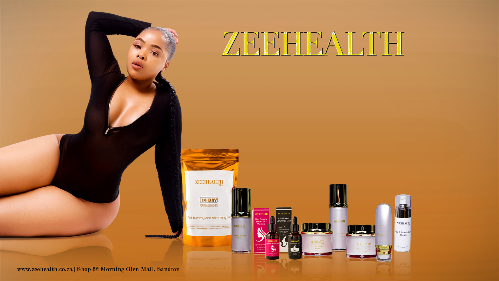 Zeehealth all products poster
